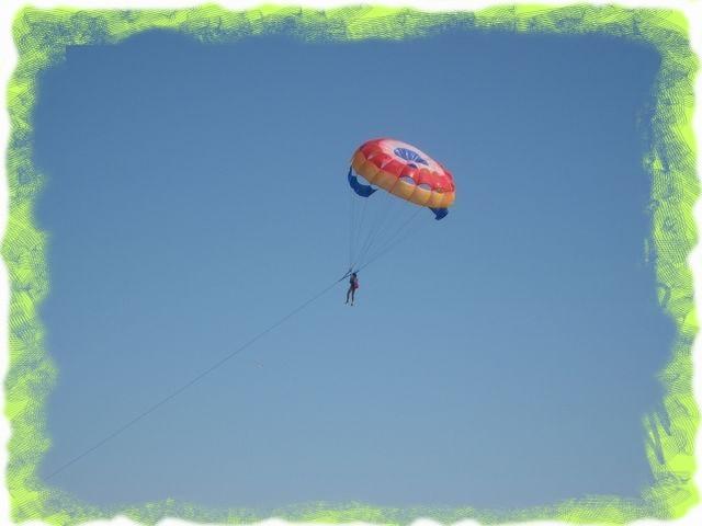 Развлечения на парашюте