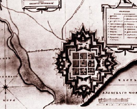 Старая схема крепости